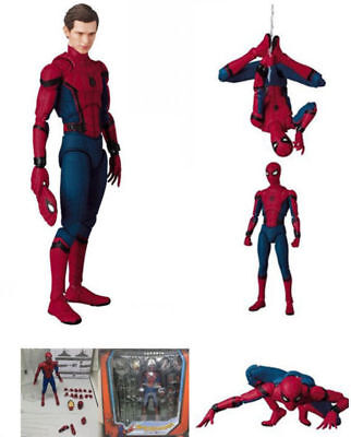 MAF 047 Spider Man Homecoming The Spiderman Tom Holland PVC Action Figure Toys