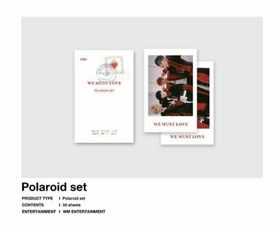 Onf On / Off We Must Love Official Goods 30 Polaroid Photocard Set New