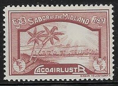 USA Cinderella stamp: 1933 'SABOR OF THE MIDLAND' Rare! (See Story) - dw129d