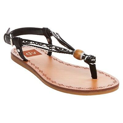 8dc703d4147 DV FOR TARGET by Dolce Vita Sandals Size 8 Allison Black Thong Bead ...