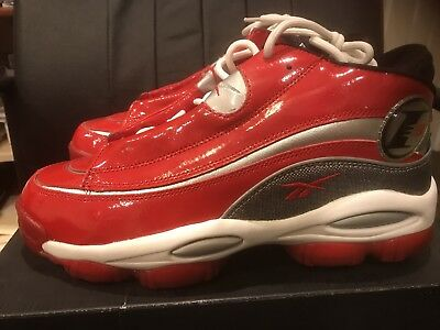 b46790a02357 NEW DS REEBOK Answer IV 4 Allen Iverson AI Black Rivet Grey Red Mens ...