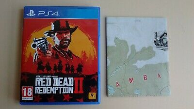 Red Dead Redemption 2 (II) + Carte sur Playstation 4 PS4 !!!!