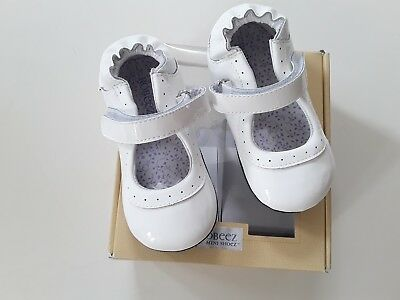 NIB ROBEEZ Mini Shoez Shoes Pink Penny Mary Jane 18-24m 6
