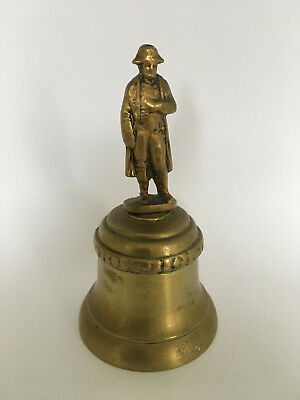 Vintage French Brass Bell Napoleon