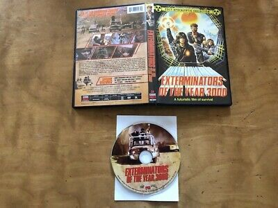 Exterminators of the Year 3000 DVD*Code Red*Post Apocalyptic Collection*Classic*