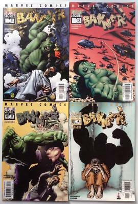 Banner #1 to #4 complete series (Marvel 2001) 4 x issues