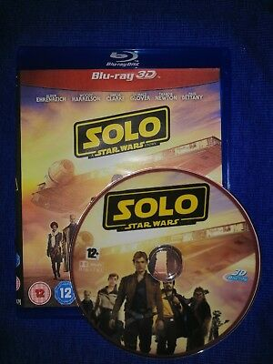Solo - A Star Wars Story Full Hd 3D Bluray Disc