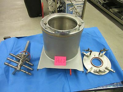 Lab Laboratory Mixing Melting Stirrer Agitator Container Pot Worcester Valve