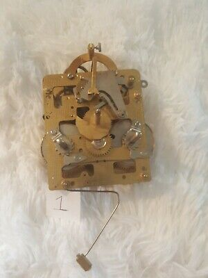 Clock Movement Franz Hermle 151-023 29cm. stamped No 83 (0) jewels Germany