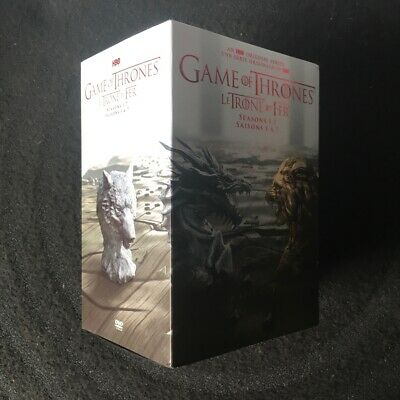 Game of Thrones: The Complete Seasons 1-7 DVDs