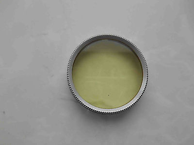 Early yellow light filter PZ0 for russian cameras FED, Zorki, Industar 22. D 36