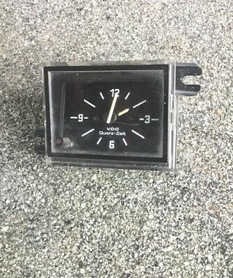 ANCIENNE HORLOGE VDO QUARTZ ZEIT VINTAGE AUTO RETRO 12 volts