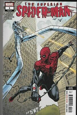 Superior Spider-man #1 2nd Printing Mike Hawthorne Variant