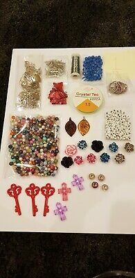Joblot Of Jewellery Making Items 1. Crafting