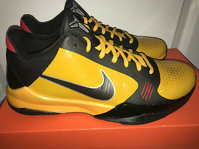 the latest 75f49 79309 DS NEW NIKE Zoom Kobe 5 V Bruce Lee Size 9.5 386429-701