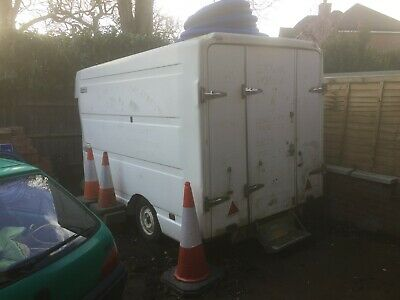 Ex BT Trailer Mobile Site Office  (new wheels & tyres)
