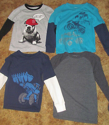 Boys Jumping Beans and Okie Dokie NWOT long sleeved shirts size 7/7x