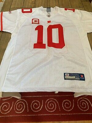 online retailer 71b99 6c3f6 NY GIANTS ELI Manning Jersey (Away) USED once For The Last super Bowl