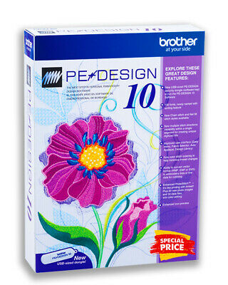 Brother PE Design 10 Embroidery Full Software + FREE GIFTS - Instant Delivery 🔥