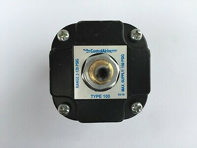 Control Air Type 100 Precision Air Pressure Regulator 2-120 PSIG Free Shipping!