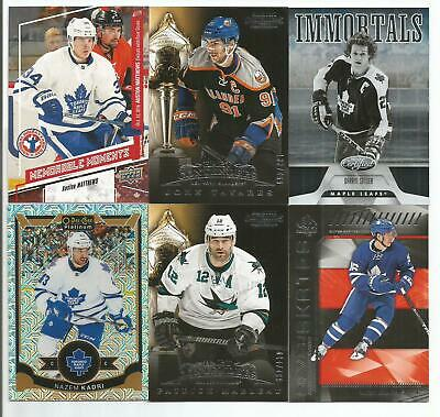 Toronto Maple Leafs 16 Card Lot Auston Matthews John Tavares Darryl Sittler +++