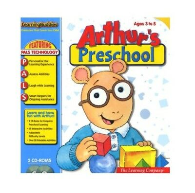ARTHUR'S PRESCHOOL 2 CD-ROM's Windows 95 & 98, Macintosh