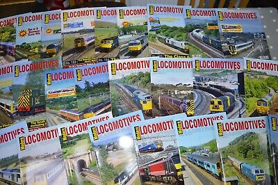 Modern Locomotives Illustrated various issues from No.178. Choose from drop down