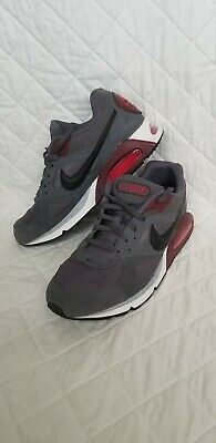 timeless design 7644e 0c724 Mens Nike Air Max Ivo Running Shoes Size 11 Grey Maroon Black White 580518  013
