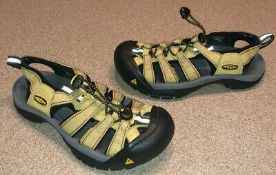 121e248567b Keen Newport H2 Women's Sz 6.5 Yellow Green Waterproof Sport Sandals Sport  Shoes