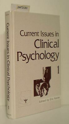 Current Issues in Clinical psychology 1 Karas Eric: