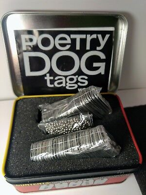 Poetry Dog Tags You Have a Voice So Wear It Clare Ultimo Concept Design