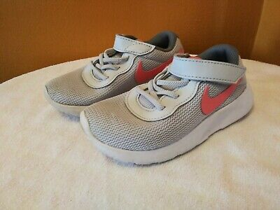 various colors a7d79 c450c NIKE FREE RUN Toddler Girls Shoes Size 9c Gray/ Light Pink Sneakers