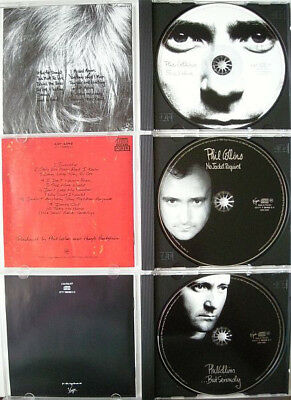Phil Collins Platinum Collection Face Value No Jacket Requir But Serious 3 x CD
