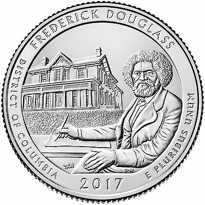 2017 Frederick Douglass National Historical Site (Dc) P,d & S Set ***in Stock***