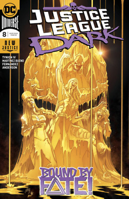 JUSTICE LEAGUE DARK # 8 MARVEL Comic 2019 Cover A1st  print