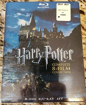 *New, Sealed* Harry Potter: Complete 8-Film Collection (Blu-ray Disc 8-Disc Set)