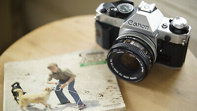 Canon AE-1 Program Film Camera with FD 50mm f1.8 S.C. *FILM TESTED*