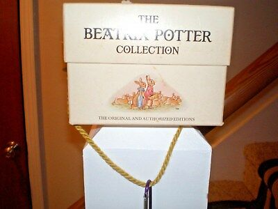 THE BEATRIX POTTER COLLECTION.  PETER RABBIT. 12 Books Box Set.  Free Shipping.
