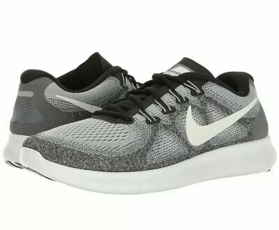 864615e9f3ac5 New Nike Free Rn 2017 Men s Running Shoes Wolf Grey off White Size 8 880839