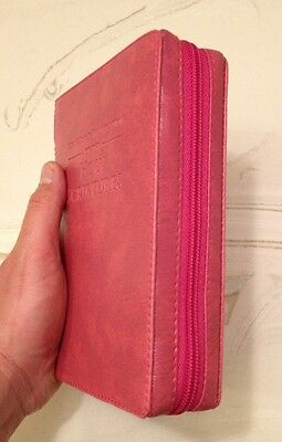 NEW WORLD TRANSLATION BIBLE COVER, PINK, Jehovah's Witnesses
