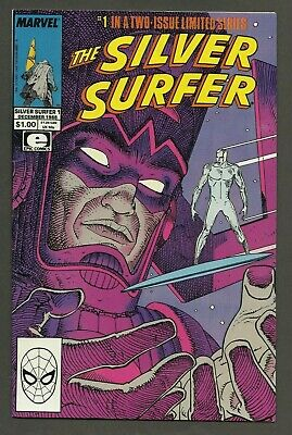 The Silver Surfer #1 (1988) Stan Lee & Moebius PARABLE ~ 1st Print
