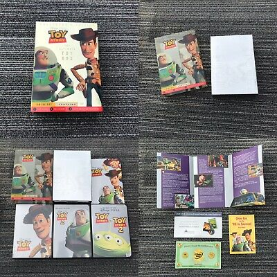Disney's Pixar Toy Story The Ultimate Toy Box DVD Movie Collectors 3 Disc Set