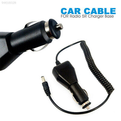 7F14 Universal Car Charging Cable Car Cable Two Way Radio 12V 2A Black