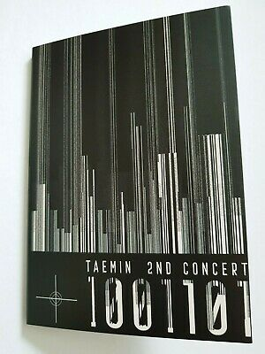 "K-POP SHINee Taemin 2nd Concert ""T1001101"" Official Limited Postcard Cover Only"