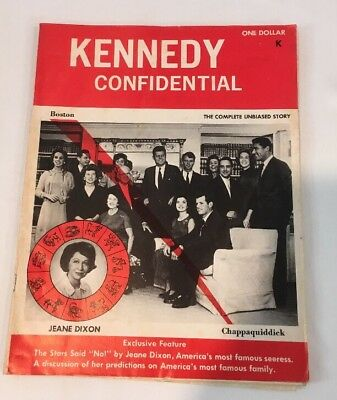 Rare The Kennedy Confidential Magazine Printed In 1969 Metro Publishers Wash. DC