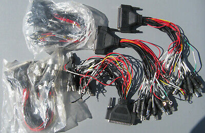 Lot of5 Surveillance System Breakout Cable DB37 37 Pin to 8 BNC Connectors CCTV?