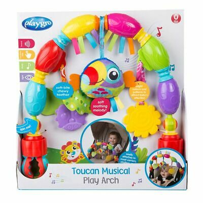 NEW Playgro Toucan Musical Play Arch