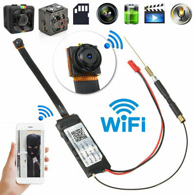 1080P Mini WIFI HD Spy IP Camera Hidden Wireless DIY Module DV DVR NVR Nanny Cam