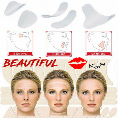 Face Anti Wrinkle Patch Lift Up Tape Frown Lines Smile Lines Forehead Creases US