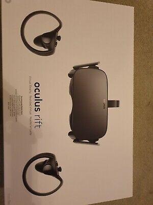 Oculus Rift Virtual Reality Headset, Controllers, and 2 Sensors